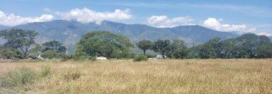 En ésta área en Río Hondo, Zacapa, se instalará la zona de desarrollo económico Miel Verde, refiere Zolic. (Foto, Prensa Libre: Zolic).