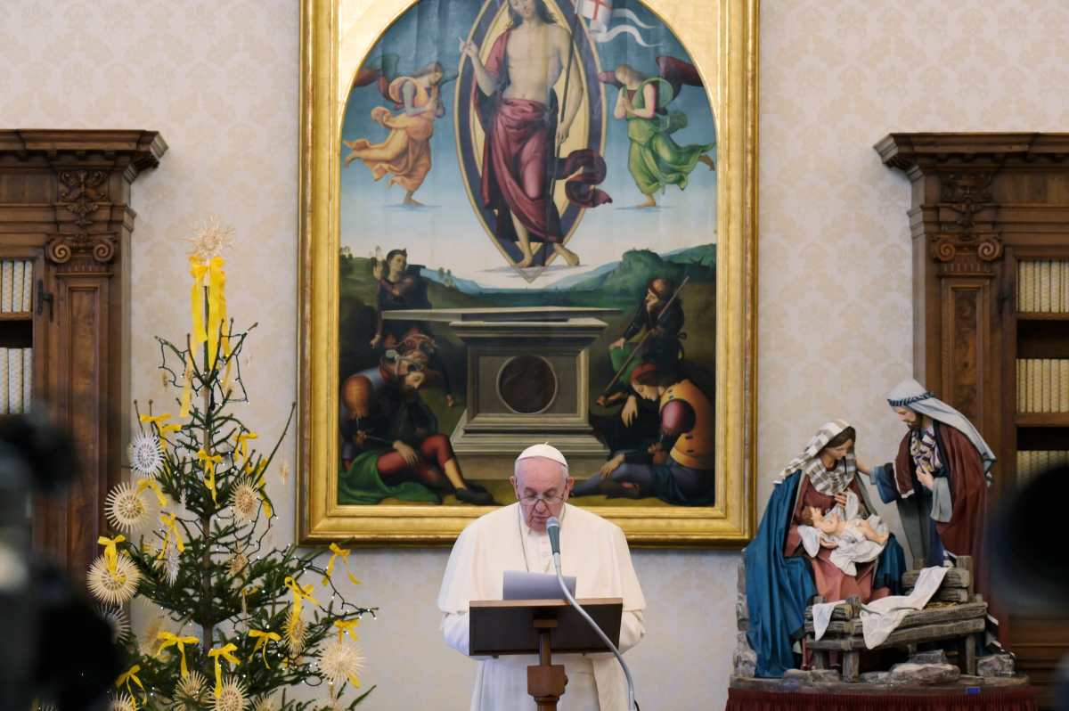 Cómo el papa Francisco planea celebrar el Miércoles de Ceniza en tiempos de pandemia