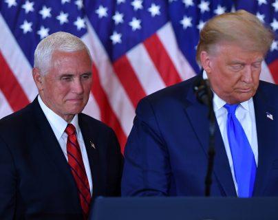 Asalto al Capitolio divide al presidente Donald Trump y su vicepresidente Mike Pence (quienes no se hablan, según medios)