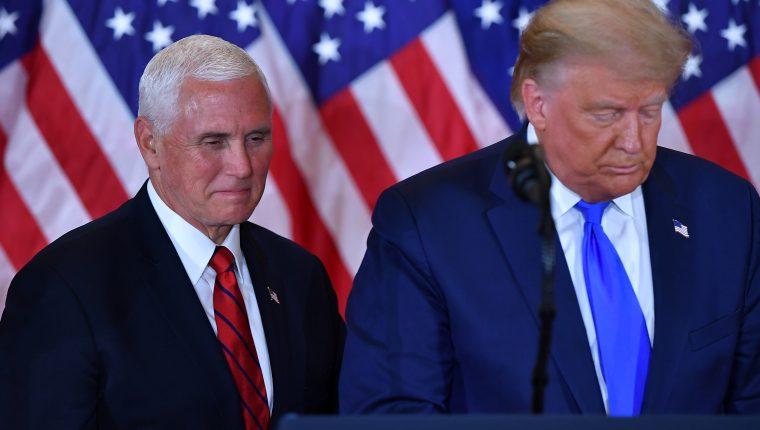 Presidente y Vicepresidente de EE.UU. en conferencia de prensa