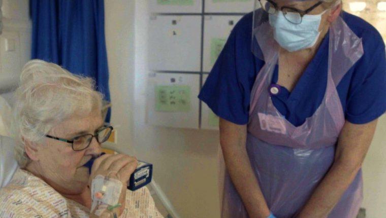 Kaye Flitney es una de las pacientes que se inscribió para el ensayo clínico.