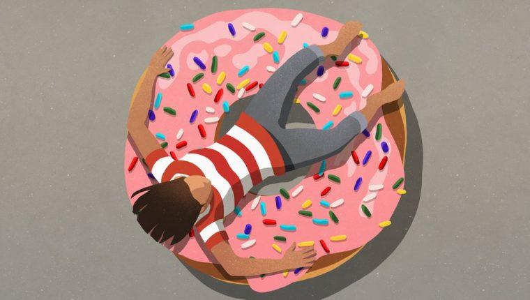 Para muchos, no hay mayor consuelo que una gran rosquilla.