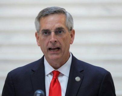 Brad Raffensperger, secretario de Estado de Georgia, le dijo a Trump que éste tenía datos electorales incorrectos.