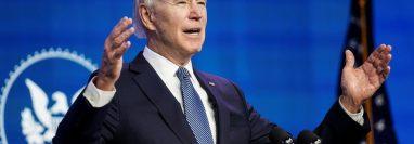 Una de las prioridades de Biden será conseguir el apoyo del Congreso para aprobar un nuevo paquete de estímulo financiero en medio de la crisis.