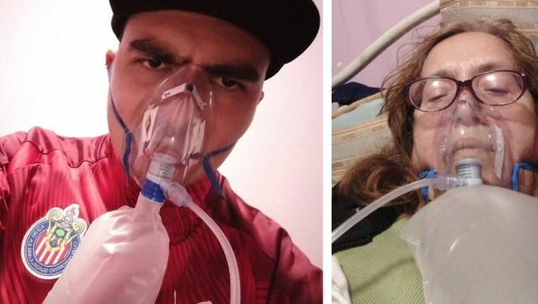 David, quien se enfermó de covid-19 antes que su madre María de Lourdes, buscó por decenas de hospitales hasta encontrar una cama libre para ella en Ciudad de México.