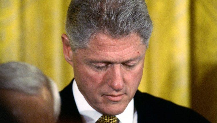 El expresidente Bill Clinton enfrentó un juicio político en 1998.