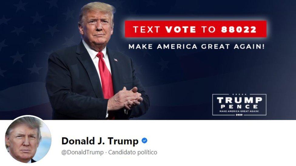 Trump en Facebook e Instagram: los reportes de que están activas las cuentas del presidente llevan a la empresa a aclarar que sigue sin poder postear nada