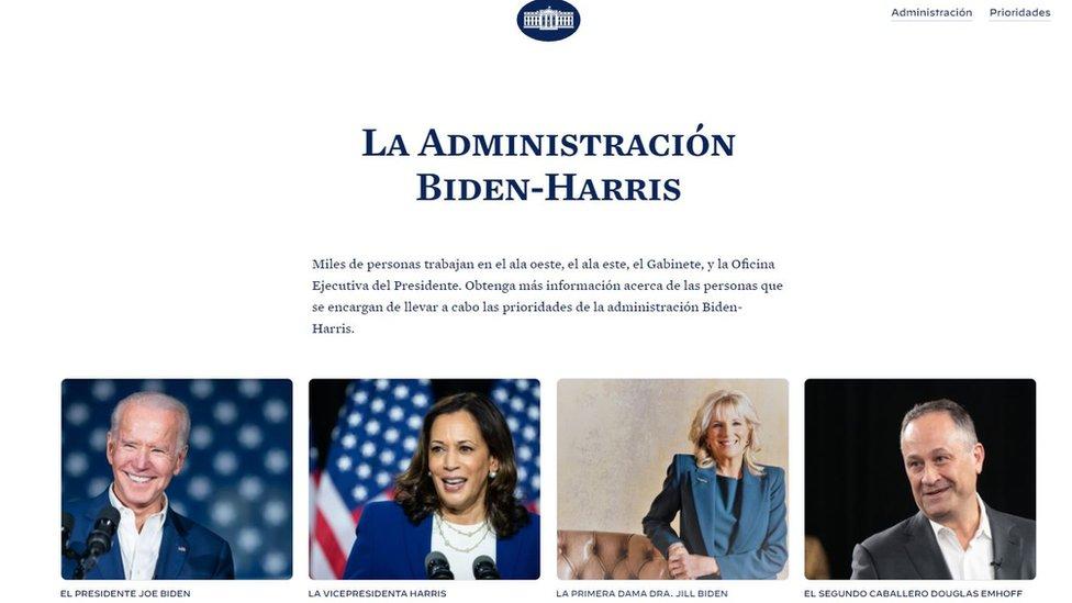 Biden presidente: el regreso del español y de las figuras latinas a la Casa Blanca