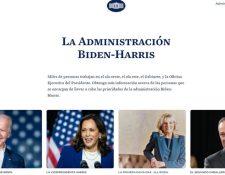La página en español de la Casa Blanca informa entre otras cosas sobre la estructura de la rama ejecutiva.