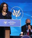 Kamala Harris y Joe Biden en un acto en Wilmington, Delaware. (Foto: AFP)