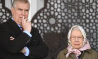 Windsor (United Kingdom).- (FILE) Britian's Queen Elizabeth II and Prince Andrew watch the Endurance event during the third day of the Royal Windsor Horse Show, in Windsor, Britain, 12 May 2017 (reissued 17 November 2019). The Duke of York has denied having any sexual contact with a woman, who says she was forced to have sex with him aged 17. Answering questions about his links to convicted sex offender Jeffrey Epstein in a BBC interview, Prince Andrew said the alleged incidents 'never happened'. (Reino Unido) EFE/EPA/FACUNDO ARRIZABALAGA *** Local Caption *** 53513377