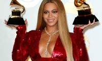 Los Angeles (United States), 13/02/2017.- (FILE) - US singer Beyonce poses in the press room during the 59th annual Grammy Awards ceremony at the Staples Center in Los Angeles, California, USA (reissued 06 January 2021). The 63rd Grammy Awards were about to be broadcasted on 31 January 2021, but has been postponed due to the coronavirus pandemic to 14 March 2021. Beyonce was nominated for nine awards at the 63rd Grammy Awards, making her the most-nominated female artist in Grammy history with a total of 79 in her career. (Estados Unidos) EFE/EPA/MIKE NELSON *** Local Caption *** 56518900