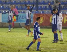 El Alcoyano avanzó a la siguiente fase contra el Real Madrid tras haber derrotado al Huesca. Foto Prensa Libre: EFE.
