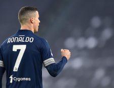 Cristiano Ronaldo, jugador de la Juventus, está en el 11 ideal del 2020. (Foto Prensa Libre: EFE )