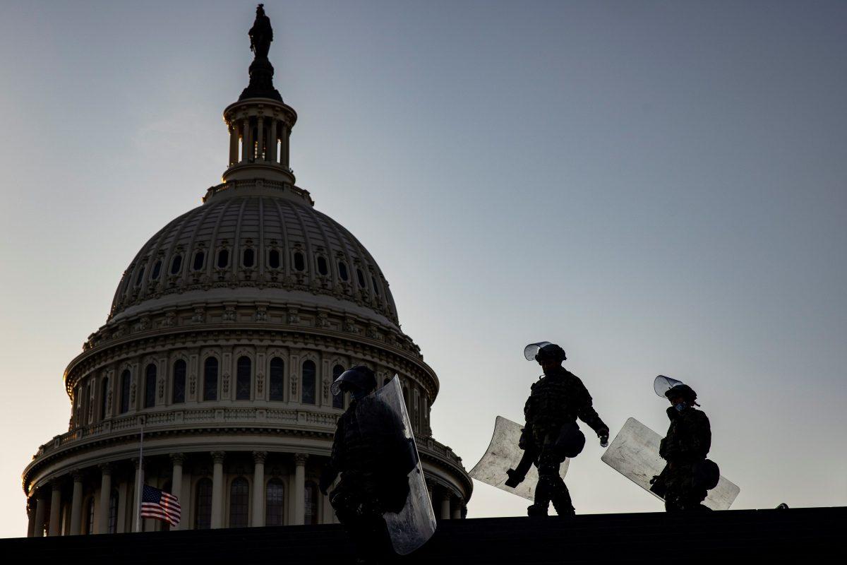 Inteligencia de Estados Unidos revela un complot para que una milicia irrumpa en el Capitolio