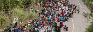 Las caravanas podrían ser motivadas con fines políticos y criminales. (Foto Prensa Libre: Hemeroteca PL)