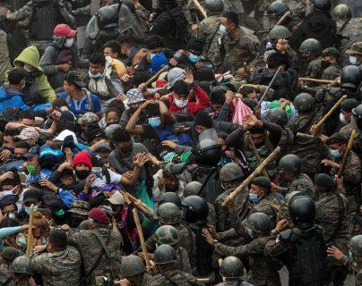 Prevén nueva caravana de migrantes hondureños y autoridades se preparan para contenerla