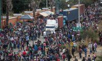 EE. UU. insiste ante los gobiernos centroamericanos que erradiquen las causas de la migración. (Foto Prensa Libre: Hemeroteca)