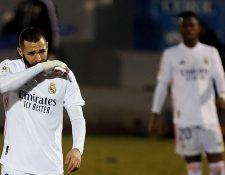 El Real Madrid se despidió de la Copa del Rey. (Foto Prensa Libre: EFE)