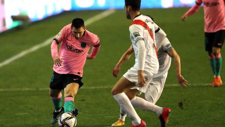 Copa del Rey: Leo Messi y De Jong rescatan al Barcelona del sufrimiento ante el Rayo Vallecano – Prensa Libre