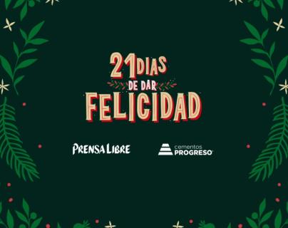 Guatemaltecos contagian con su amor al prójimo los 21 Días de Dar Felicidad