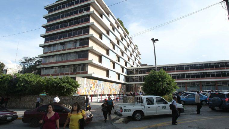 Oficinas centrales del IGSS. (Foto Prensa Libre: Hemeroteca PL)