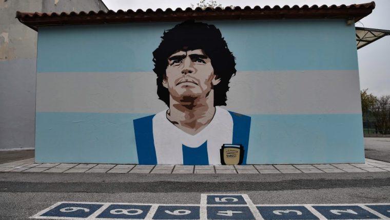 Diego Maradona falleció el 25 de noviembre. (Foto Prensa Libre: Hemeroteca PL)