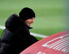 Zinedine Zidane es el actual entrenador del Real Madrid. (Foto Prensa Libre: AFP)