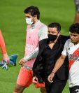 Marcelo Gallardo ya sabe lo que es ganar una Copa Libertadores al mando de River Plate. (Foto Prensa Libre: AFP)