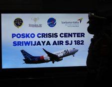 Un avión de Sriwijaya Air despegó de Yakarta, Indonesia, y perdió contacto cuatro minutos después. (Foto Prensa Libre: AFP)