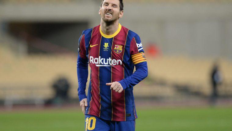 Lionel Messi estaría cerca de dejar el Barcelona. (Foto Prensa Libre: AFP)