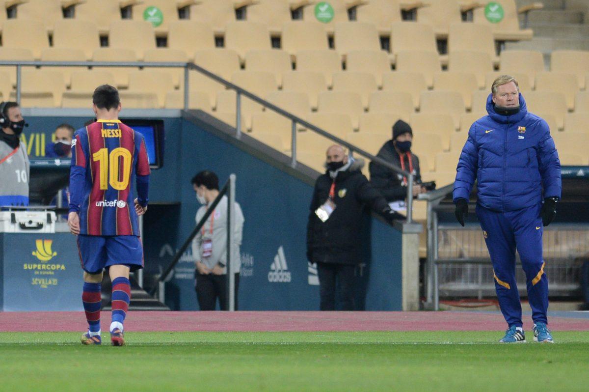 Messi expulsado en la final de la Supercopa de España, el Barcelona pierde el título ante el Athletic de Bilbao