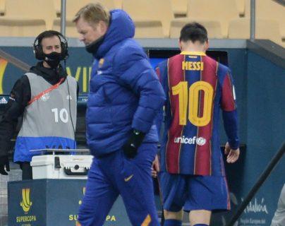 Sanción a Messi: dos partidos de suspensión por la expulsión en la Supercopa de España