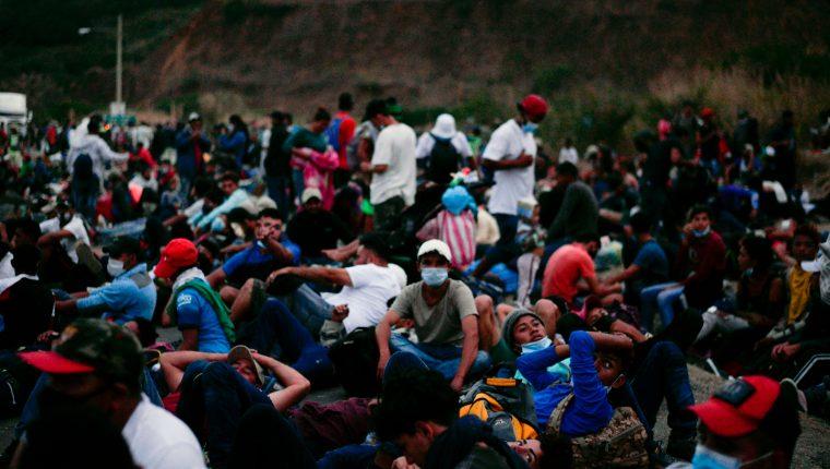 La caravana más reciente fue a mediados de enero, para la cual también se impuso un estado de Prevención. (Foto: Hemeroteca PL)