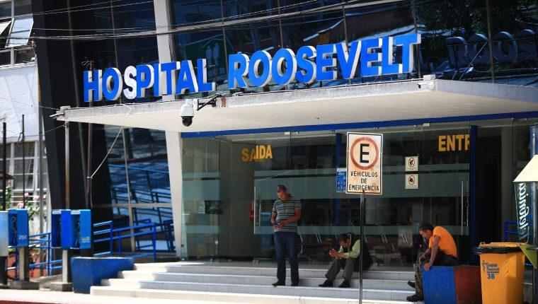 El Hospital Roosevelt reporta al límite sus áreas de atención. (Foto Prensa Libre: Hemeroteca PL)