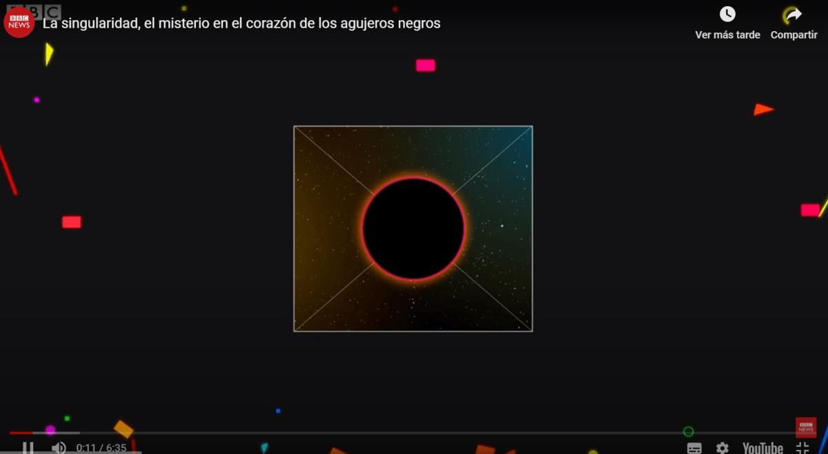 """Qué es la """"singularidad"""", el misterio en el corazón de los agujeros negros"""