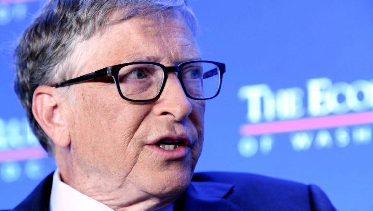 Bill Gates es el multimillonario  fundador de Microsoft. (Foto Prensa Libre: EFE)