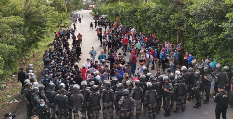 Crisis migratoria: venden pruebas falsas de coronavirus a hondureños que intentan llegar a EE. UU.