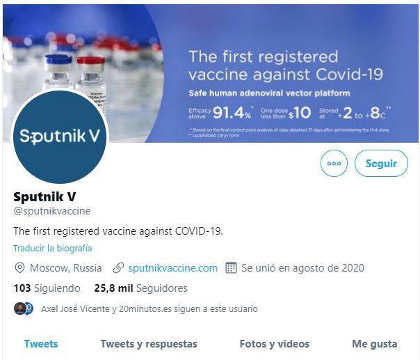 ¿Por qué Twitter bloqueó la cuenta oficial de la vacuna rusa Sputnik V?