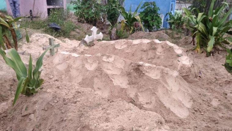 El MP ha efectuado varias exhumaciones como parte de la investigación del Caso Siekavizza. (Foto Prensa Libre: MP)