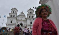 Las actividades en honor del Cristo Negro de Esquipulas fueron canceladas en el 2021. (Foto Prensa Libre: Elizabeth Hernández)
