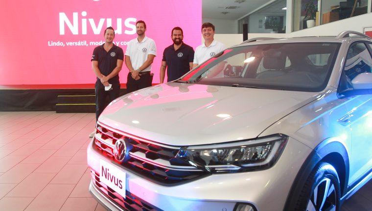 Continental Motores presentó el nuevo Nivus de su insigne marca, Volkswagen, de la gama Crossover Utility Vehicle. Foto Norvin Mendoza