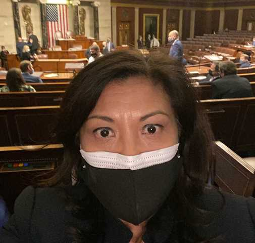 """Norma Torres sobre el asalto al Capitolio: """"ninguna turba sediciosa va a detener esta democracia"""""""