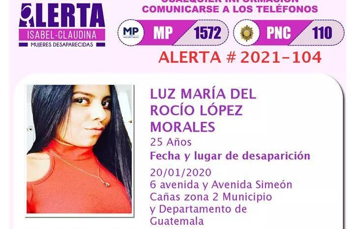 Matan a Luz María del Rocío López Morales, quien desapareció en la avenida Simeón Cañas