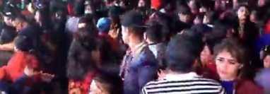 Fiesta en Joyabaj, Quiché, donde los asistentes no guardan medidas de prevención por el covid-19. (Foto Prensa Libre: Tomada de Facebook)