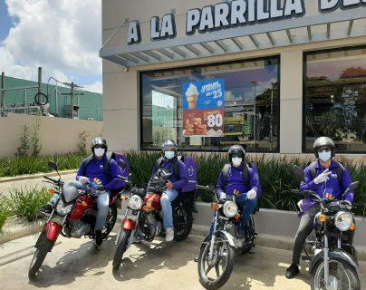 Guatemaltecos, ante el impacto de la pandemia, buscaron alternativas para generar ingresos o bien usaron más los servicios de transporte a través de las aplicaciones. (Foto Prensa Libre: Cortesía Hugo App)