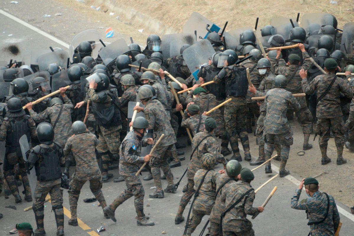 Crisis Migratoria: PDH señala uso de fuerza contra caravana de hondureños