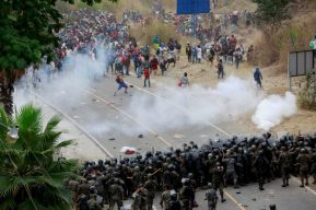 Reforzarán fronteras: Guatemala, México y EE. UU. llaman a abstenerse a migrar en caravanas por riesgo de coronavirus
