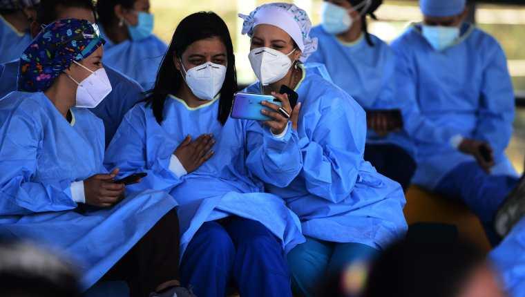 El Gobierno de Honduras emitió un toque de queda debido al aumento de casos de covid-19. (Foto Prensa Libre: AFP)