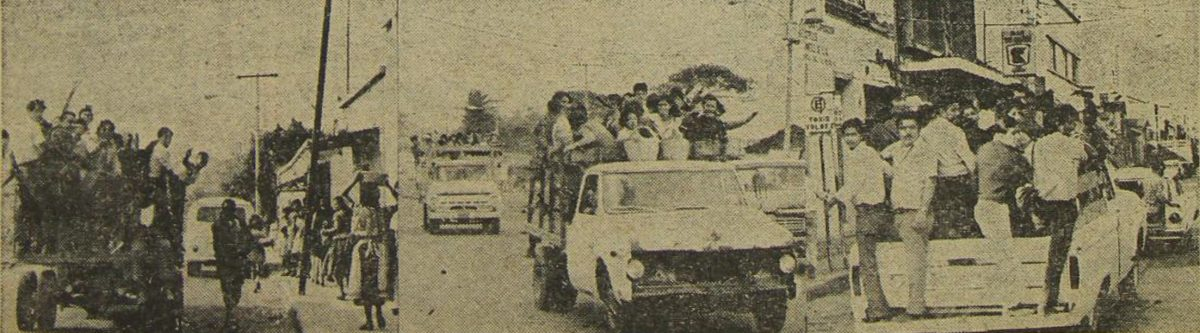 Enero 1974: Ciudad de Guatemala se queda sin autobuses
